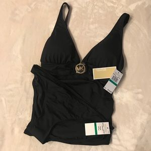 Michael Kors 2 Piece Bathing Suit. Size Large.